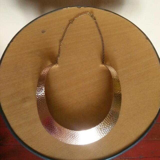 Fashionable Plate Necklace