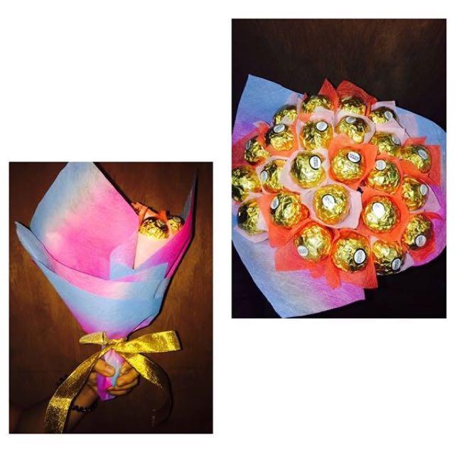 Ferrero & Kisses Bouquets
