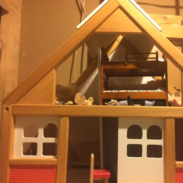 Fully Furnished Doll House