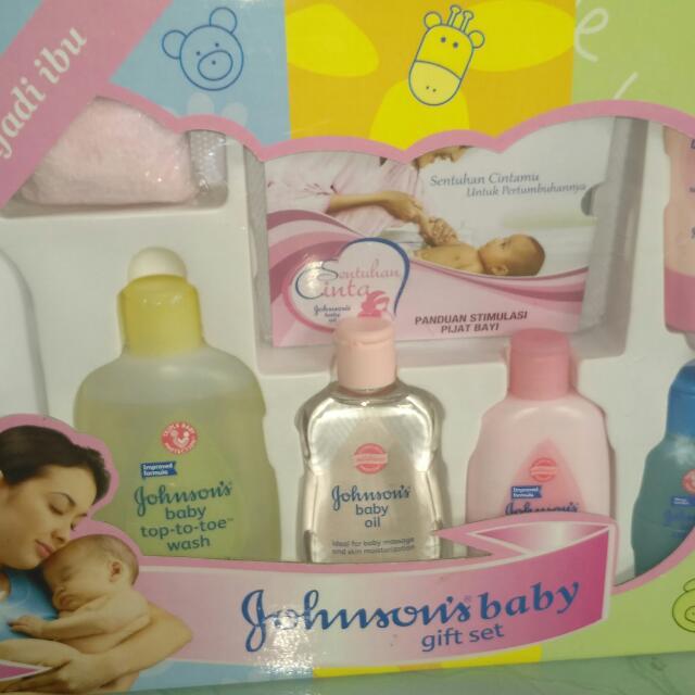 Gift Set Johnson N Johnson
