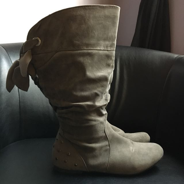 Grey Woman's Boots