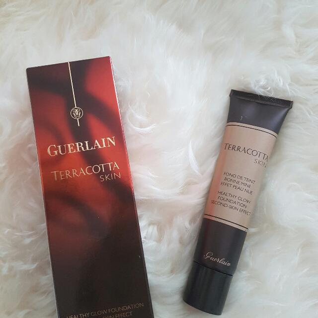 Guerlain Terracotta Skin Healthy Glow Foundation Cream Second Effect 30ml  100% Authentic   Excludes postage