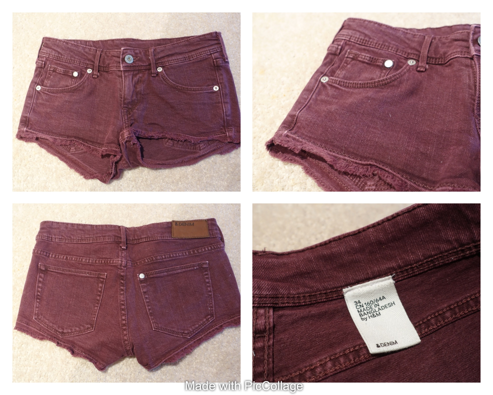 H&M Jeans Shorts