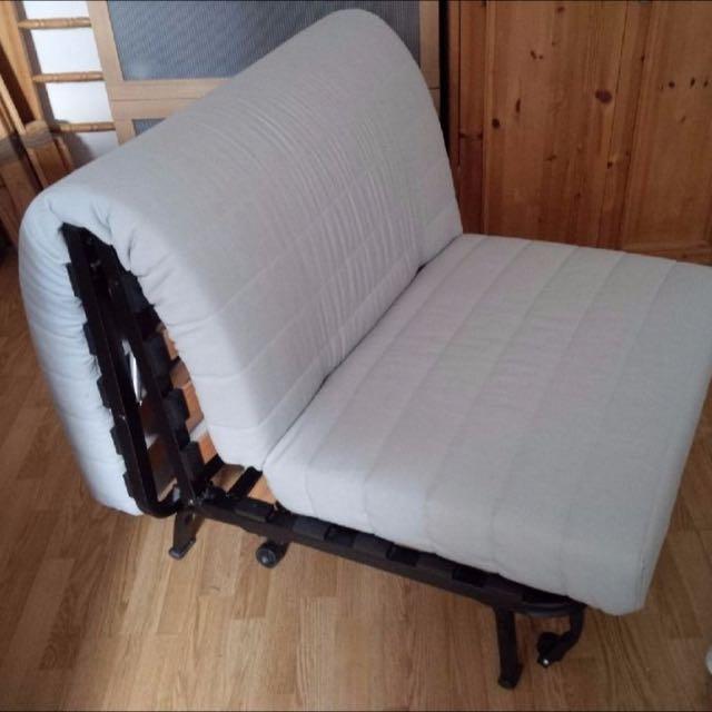 Ikea Lycksele Single Sofa Bed, Single Seat Sofa Beds Ikea