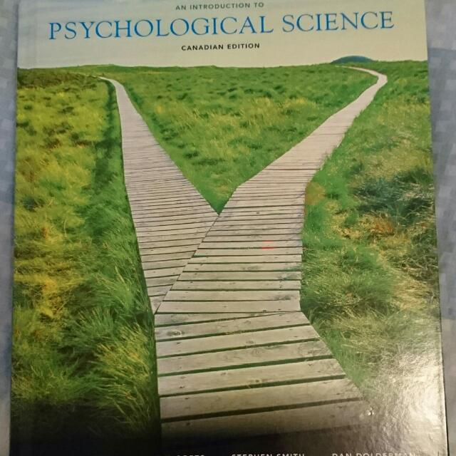 Intro To Psychological Science