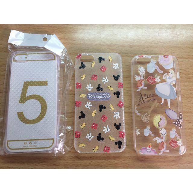 iPhone 5 5s SE 手機殼 米奇 愛麗絲 空壓殼 透明