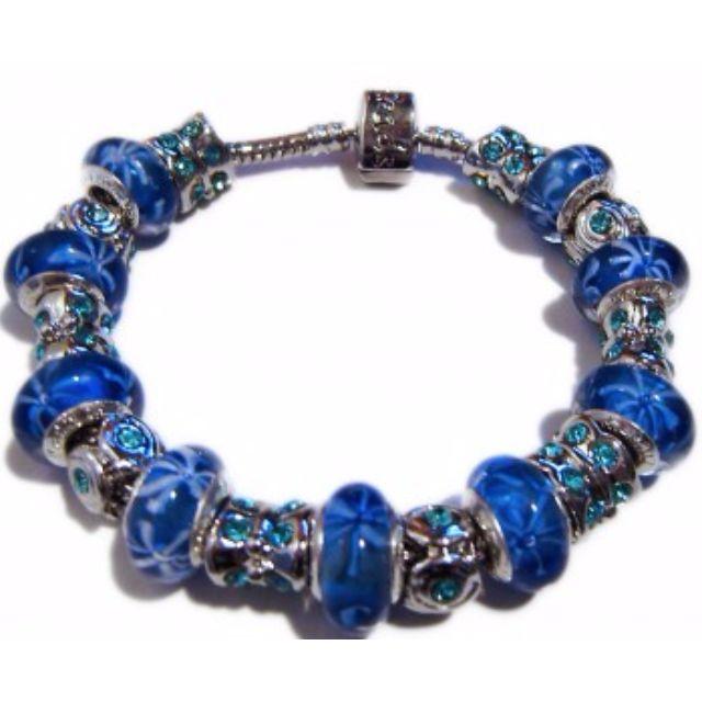 Italian Venetian Style Beaded Bracelet