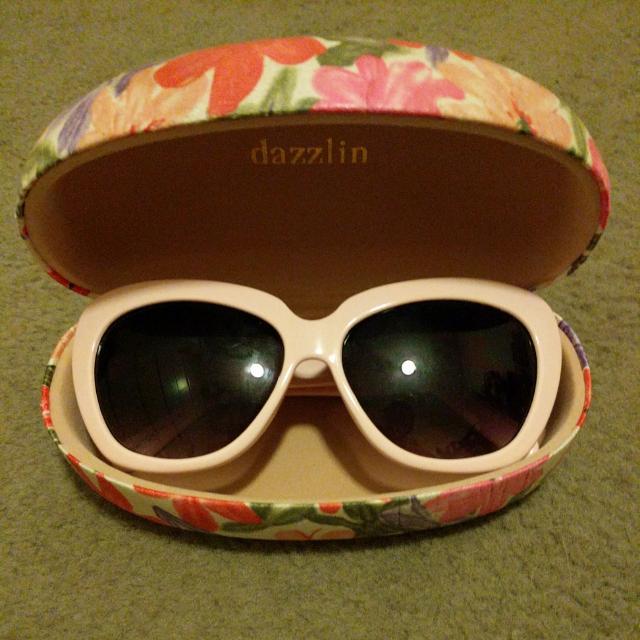 JAPANESE BRAND DAZZLIN PINK SUNGLASSES