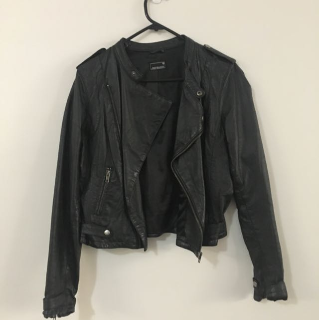 Jeans West leather Jacket