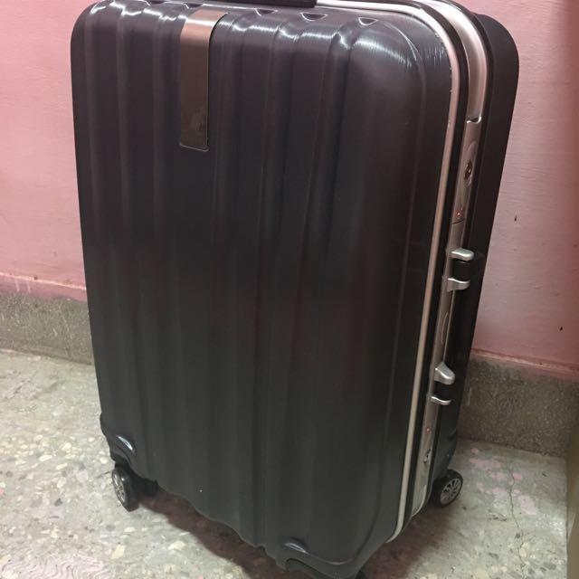 KANGOL鋁框行李箱24寸