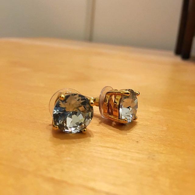 Kate Spade Large Stud Earrings - Never Been Worn