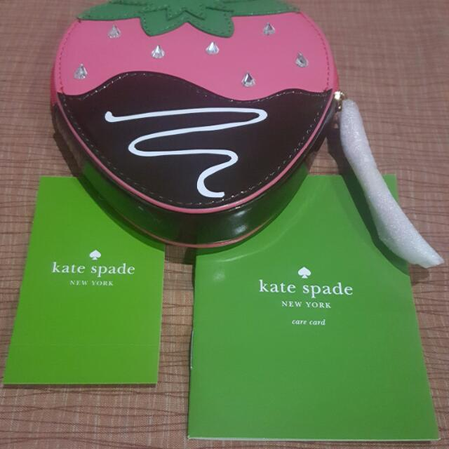 Kate Spade Strawberry Coin Purse/Wallet