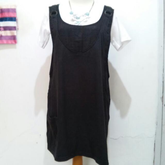 Kawaii Black Overall