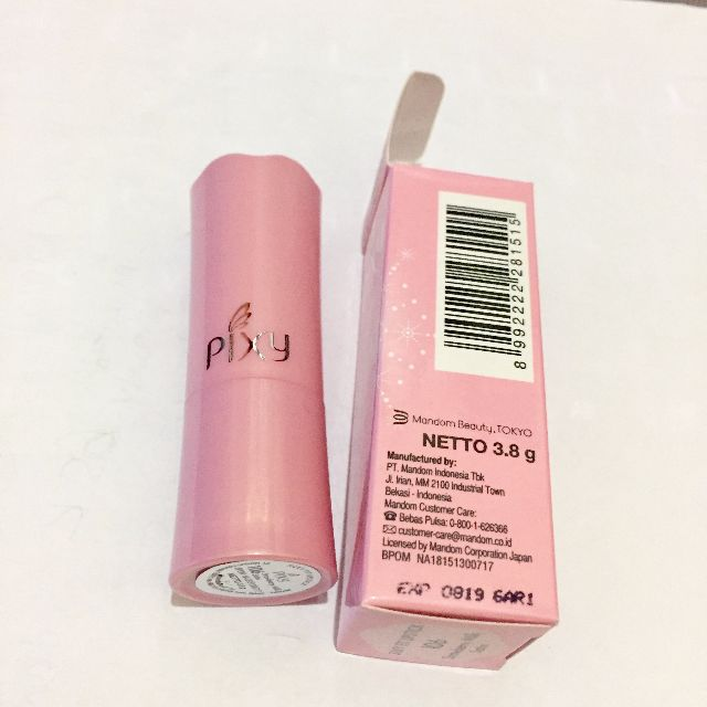 Lipstik PIXY Silky Fit Lipstick Satin 106 Strawberry Milk