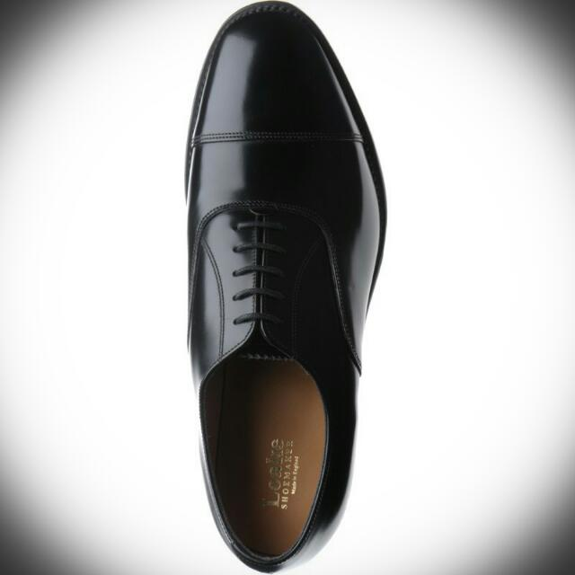 e588658b02ad Loake 747 Shoes in Black Polished Leather. Oxford Toecap Brand New In Box.  Size UK6