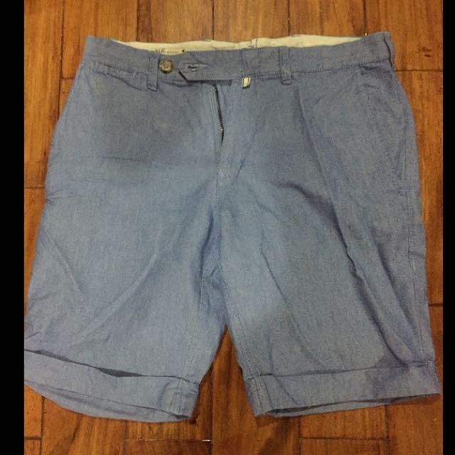 Mango Man Blue Shorts