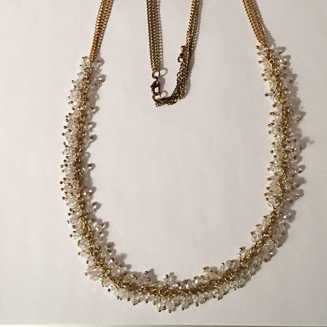 multi-stone Long Length Necklace