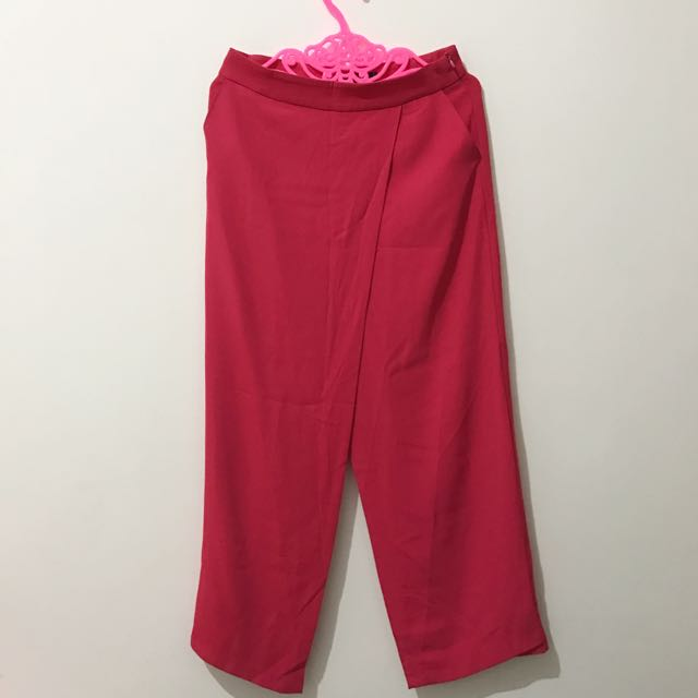 NEW - Pink Wide Cut Pants