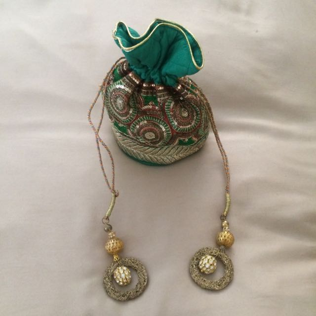 Green Small Bag, Indian, New