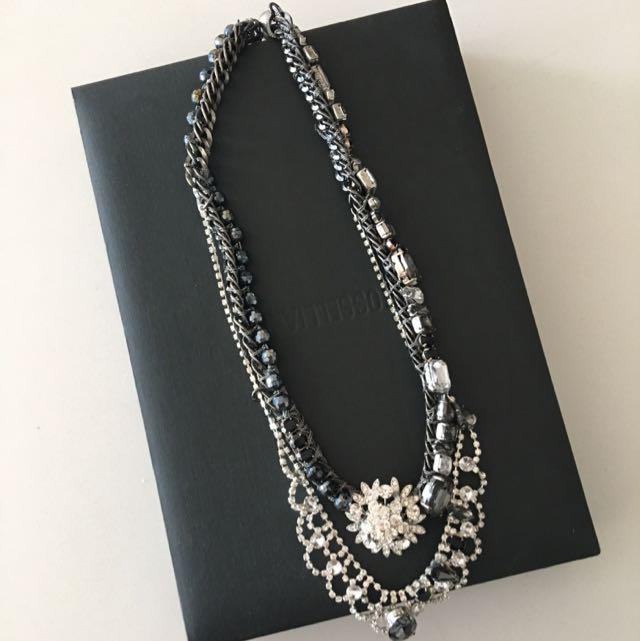 New York Designer Costume Necklace