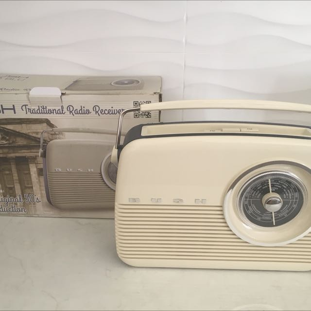 Old school Radio bush