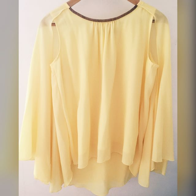 PETIT MONDE YELLOW BLOUSE