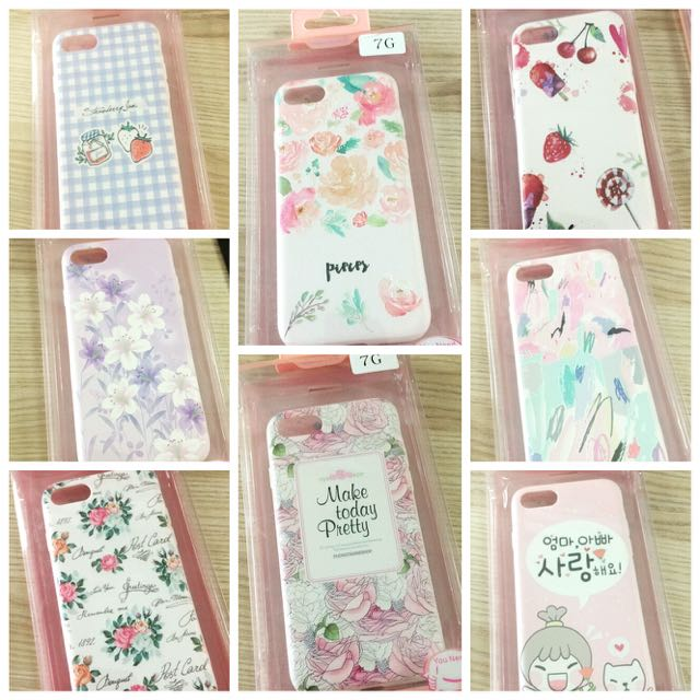 Pink Series Soft Case for iPhone 7