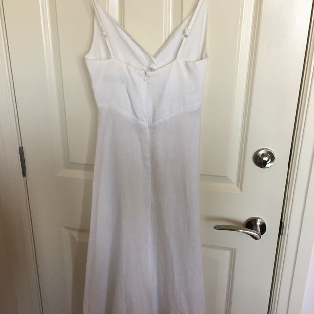 Portman Linen Slip Dress