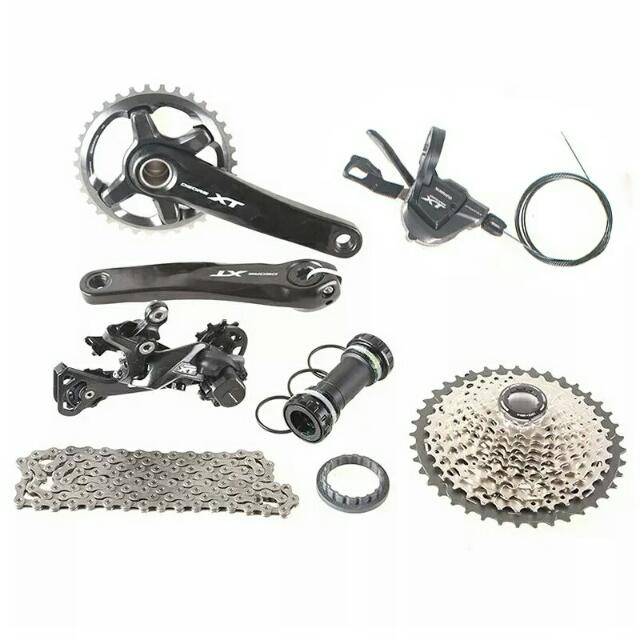 PREORDER) SHIMANO DEORE XT M8000 1x11 Groupset, Bicycles