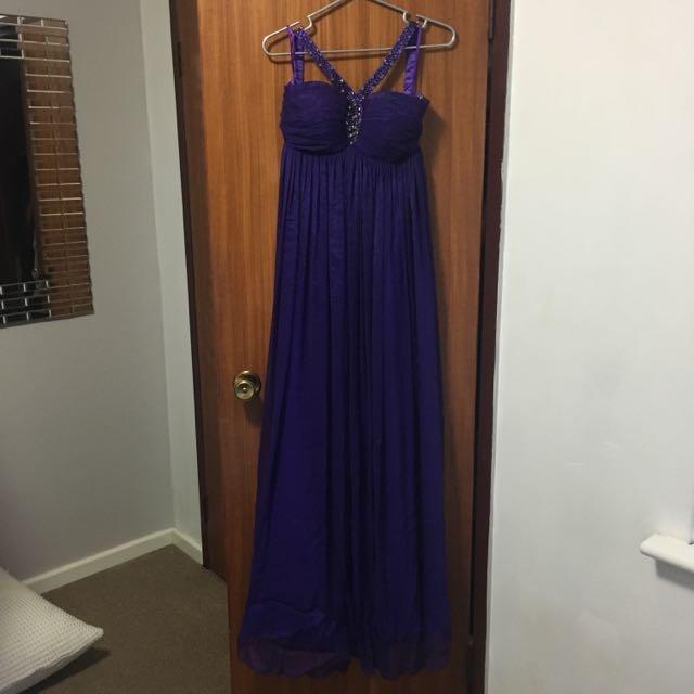 Purple Ball Dress