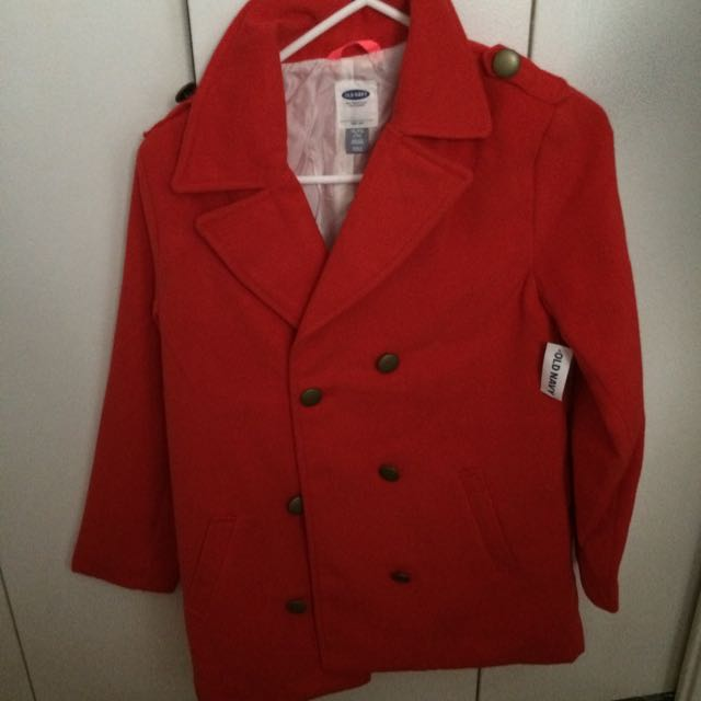 Red Old Navy Coat