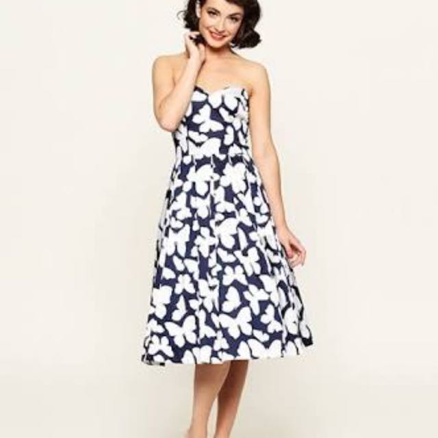Review Madam Butterfly Dress Size 6