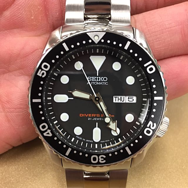 Only $350! Seiko SKX007J (Made In Japan) with Rare Strapcode Super Oyster Brushed & Polished Bracelet