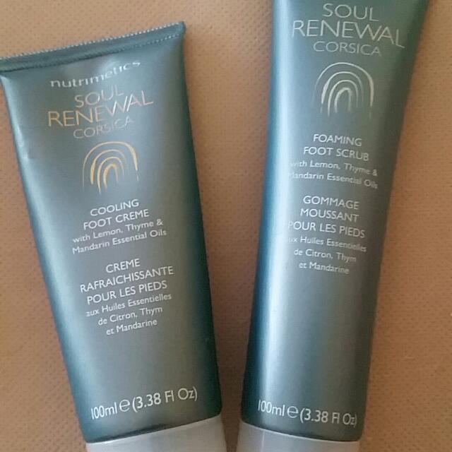Soul Renewal Foot Cream And Scrub