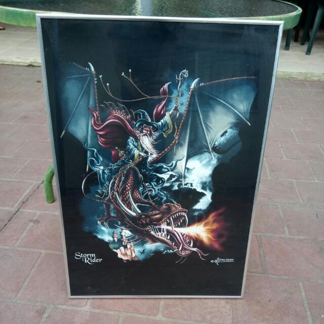 Storm Rider Framed Poster