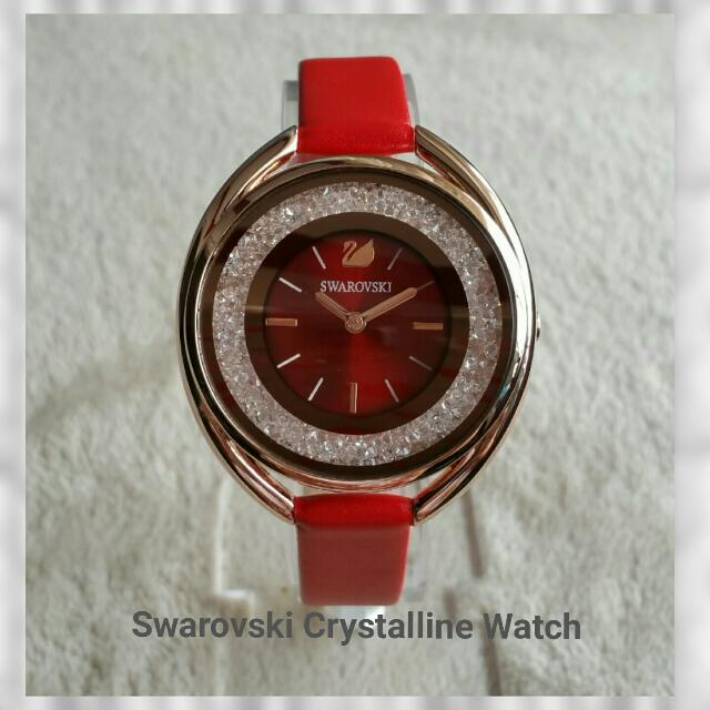 Swarovski Crystalline Oval Rose Gold Tone Watch.This Is The Watch ... 399db998f6