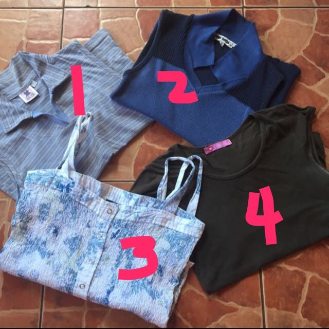 TAKE ALL 4 Preloved!!! Only @150