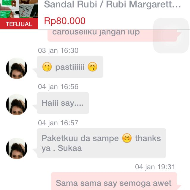 Testi // Sold By Jne