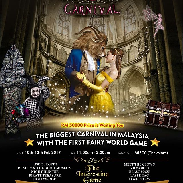 The Biggest Carnival In Malaysia • The Mines