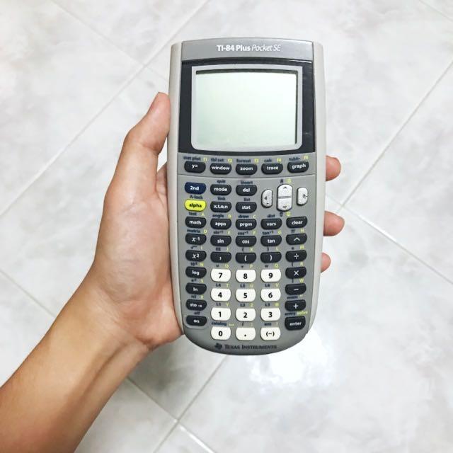 ti-84 plus pocket SE (pending)