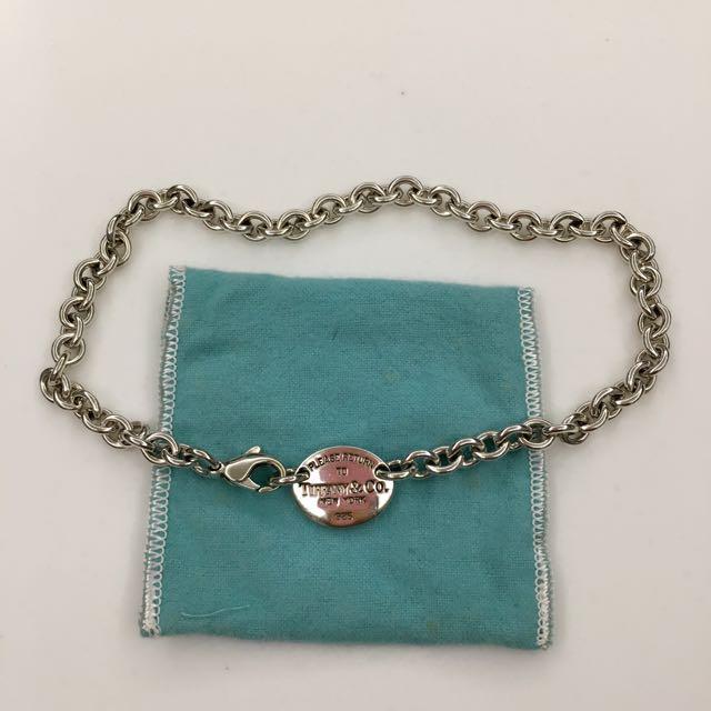 Tiffany 銀項鍊