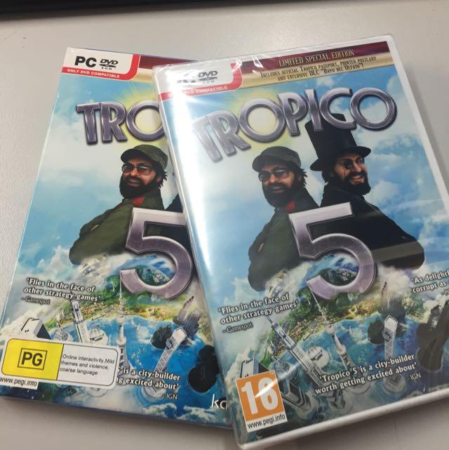 TROPICO 5  - BRAND NEW SEALED !