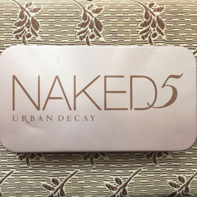 Urban Decay Naked5 Professional Makeup Brush Set