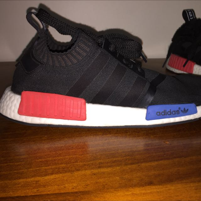 US 11 - ADIDAS NMD - Black/Blue-Red