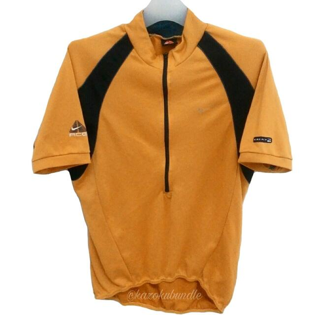 877943ad2 VINTAGE NIKE ACG CYCLING JERSEY