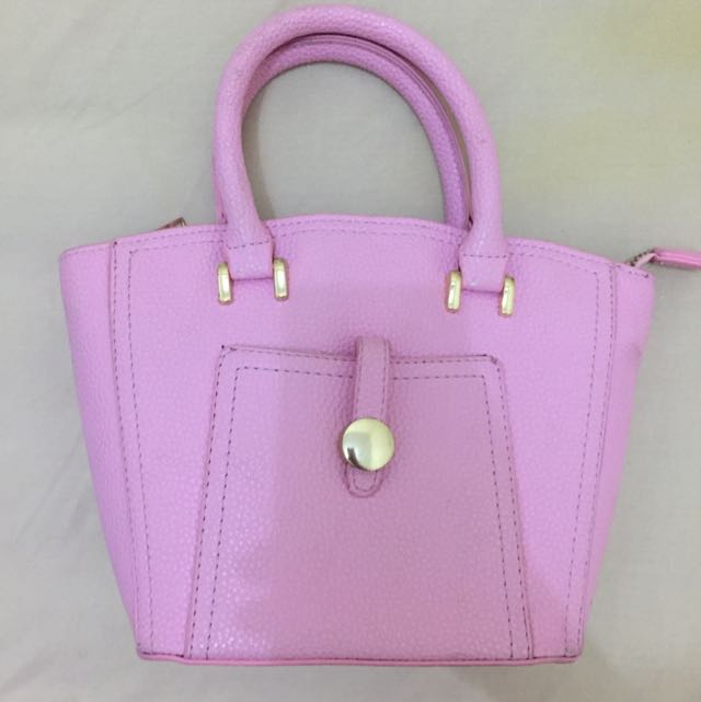 Pink Woman Bag