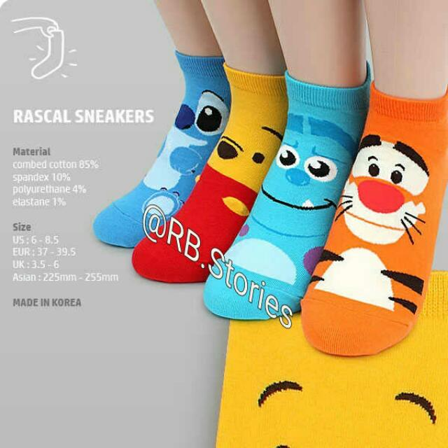 Women Socks Disney Pixar (Korean Socks)