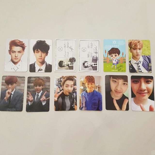 WTS EXO SHINEE ASTRO PC