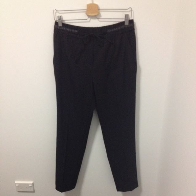 Zara Basic Pressed Pants Size M