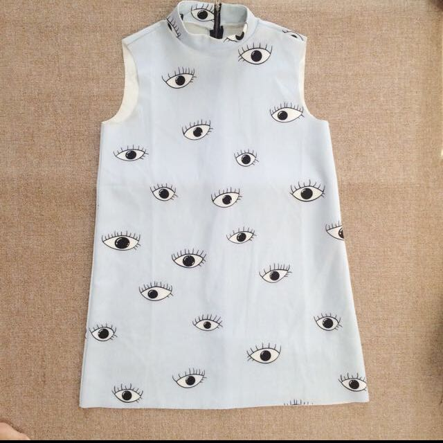 Zara Eye Top
